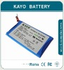 li polymer rechargeable battery pack 3.7V 1850mAh
