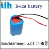 lithium battery pack 6000mah 11.1v