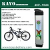 lithium ion battery 48V 10Ah for electric bicycle