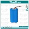 medical equipment lithium battery 3.7V 5200mah (li ion)