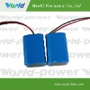 medical instrument lithium battery pack with 7.4V