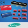 mini DIP switch Surface Mount Half Pitch