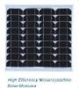 monocrystalline solar panel 25W-35W