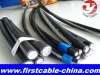 overhead aerial bundled cable (abc cable)