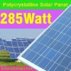 poly PV solar module 285W with TUV for home system