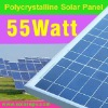 poly PV solar panel 55W for CE certificate