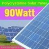 poly solar panel 90W for system CE certificate