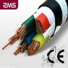 power cable Cu/Al conductor XLPE insulation,concentric conductor,steel tape armor PVC sheath