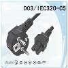 power cord/ European Power cord,European power plug,VDE power cord