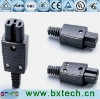 power plug wd-09 Black