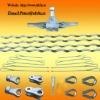preformed armor rod /strain clamp /suspension clamp for ACSR