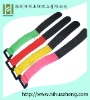 printing HZ-2014 100%nylon color   Velcro  Cable Ties  with buckle