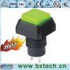 push button switch/electrical switch/AC switch On off green PBS-01 Black
