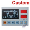 raised keypad membrane switch panel