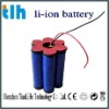 rechargeable battery pack 6600mah 11.1v