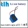 rechargeable lithium battery for flashlight with PCM 12v 12ah