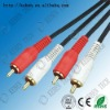 red and white multi av cable