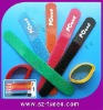 reuasble printed velcro cable ties
