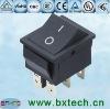 rocker switch/ electrical switch/AC switch On off black