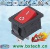 rocker switch/ electrical switch/AC switch On off red BX-101 Black