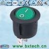 rocker switch/ electrical switch/AC switch on off green B6-101 Black