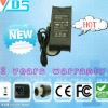 shenzhen laptop ac adapter for Dell 19.5v 4.62a (dc size : 7.4*5.0 black with pin inside )