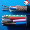 solid copper pvc insulated braiding shielded control cable