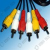 stereo connector 2.5mm audio cable