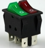 two buttons T125 rocker switch