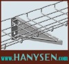 wire mesh cable tray heavy duty wall bracket