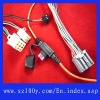 wiring harness for motorcycle auto brake cable