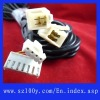 wiring harness for motorcycle dc power cable