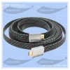 zinc connector HDMI v1.4 cable with PP braid high speed